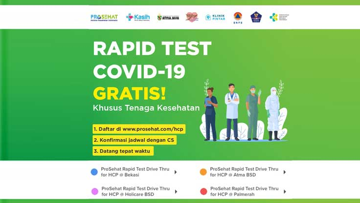 Rapid Test Covid-19 Gratis