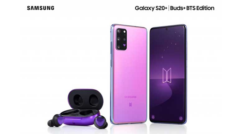 Galaxy-S20+-Buds+-BTS-Edition