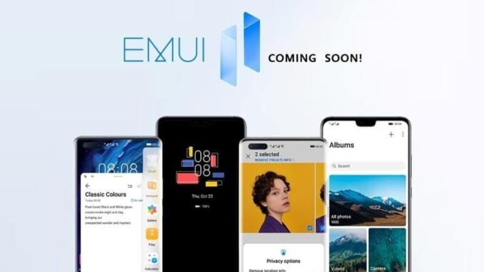 Peluncuran EMUI 11 Global