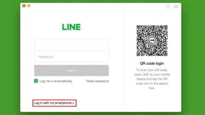 Cara login LINE Desktop